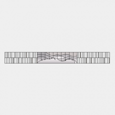 墙体_086中式景墙_Sketchup模型