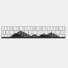墙体_087中式景墙_Sketchup模型