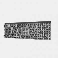 墙体_202中式景墙_Sketchup模型