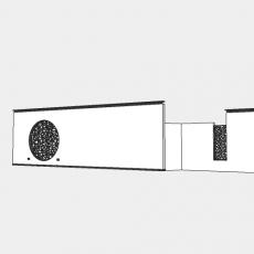 墙体_212中式景墙_Sketchup模型
