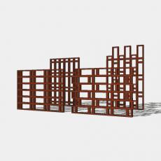 屏风_32_Sketchup模型
