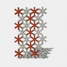 屏风_40_Sketchup模型