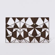 屏风_4_Sketchup模型