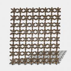屏风_60_Sketchup模型