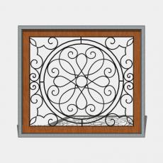 屏风_61_Sketchup模型