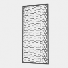 屏风_65_Sketchup模型