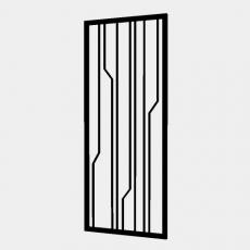 屏风_70_Sketchup模型