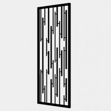 屏风_89_Sketchup模型