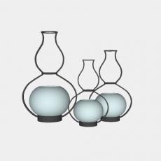 摆件_026中式摆件_Sketchup模型