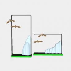 摆件_029中式摆件_Sketchup模型