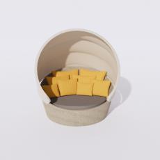 桌椅_258_Sketchup模型