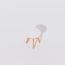 桌椅_260_Sketchup模型