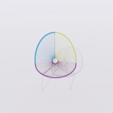 桌椅_268_Sketchup模型