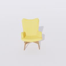 桌椅_269_Sketchup模型