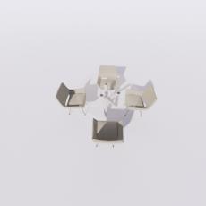 桌椅_292_Sketchup模型