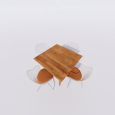 桌椅_294_Sketchup模型