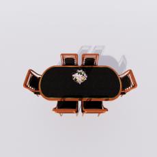 桌椅_295_Sketchup模型