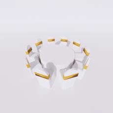桌椅_303_Sketchup模型