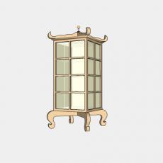灯具_中式灯具193_Sketchup模型