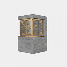 灯具_中式灯具197_Sketchup模型