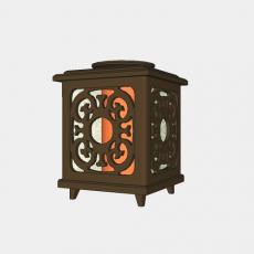 灯具_中式灯具199_Sketchup模型