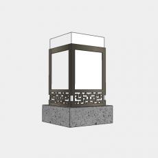 灯具_中式灯具203_Sketchup模型