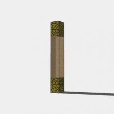 灯具_中式灯具204_Sketchup模型