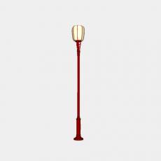 灯具_中式灯具209_Sketchup模型