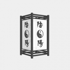 灯具_中式灯具210_Sketchup模型