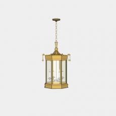 灯具_中式灯具211_Sketchup模型