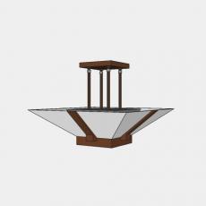 灯具_中式灯具212_Sketchup模型