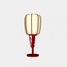 灯具_中式灯具214_Sketchup模型