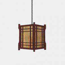 灯具_中式灯具218_Sketchup模型