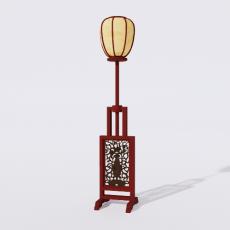 灯具_禅意灯具13_Sketchup模型