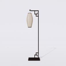 灯具_禅意灯具27_Sketchup模型