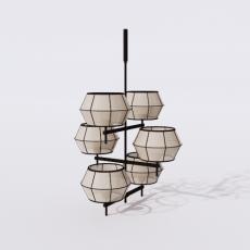 灯具_禅意灯具5_Sketchup模型