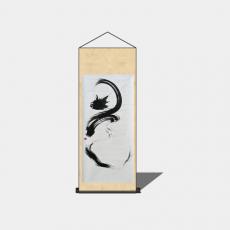 装饰画_011中式装饰画_Sketchup模型