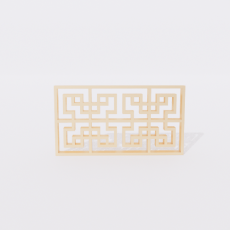 角线_角线20_Sketchup模型